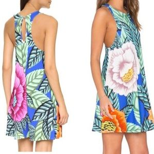 Mara Hoffman Flora Sleeveless Tank Swing Dress XS